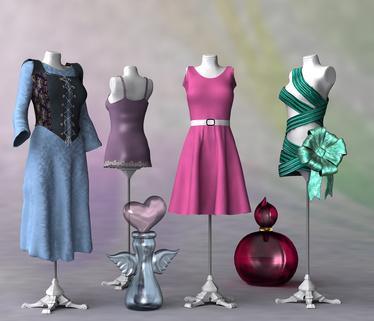 Oblečenie figuríny