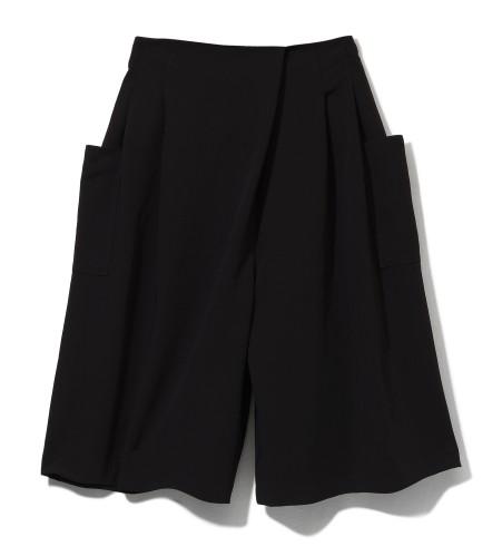 čierne sukňové nohavice