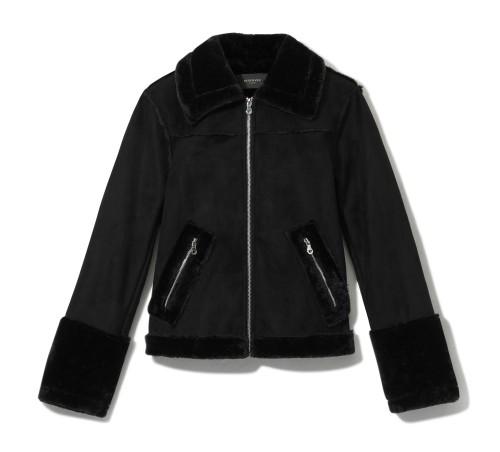 čierna bunda