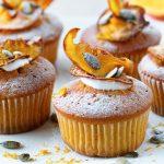 Koreninové tekvicové cupcakes s krémom