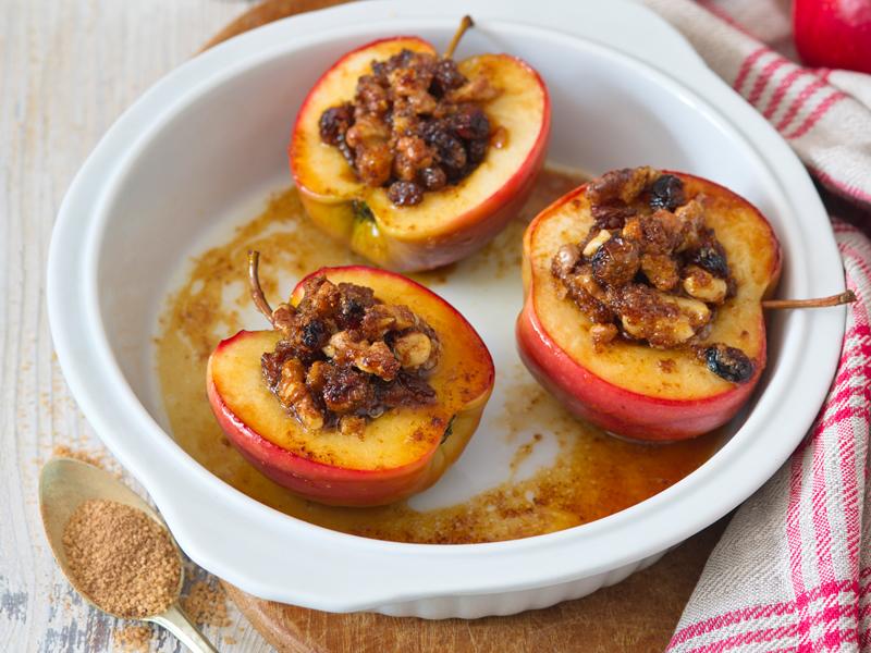 pečené jablká smascarpone