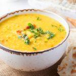 Šošovicová polievka s curry