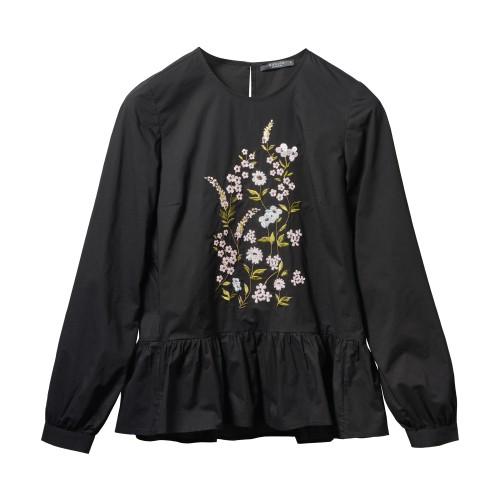 čierny pulóver