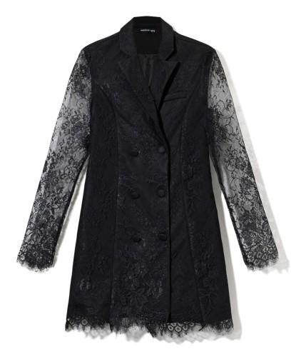 čierne sako