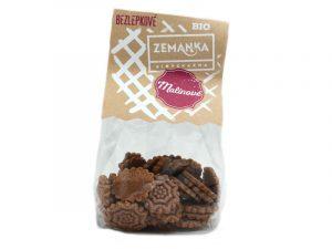 Bezlepkové sušienky bio malinové