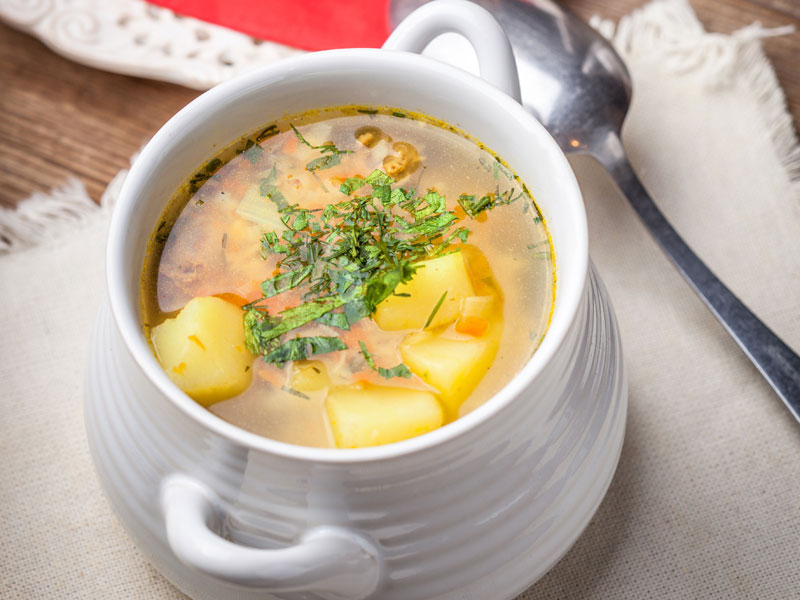 Rýchla cesnaková polievka