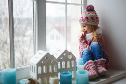 Dievčatko zima