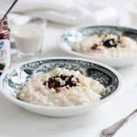 Ryžová kaša – ľahké a teplé raňajky