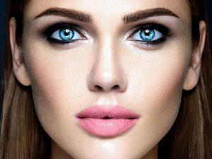 väčšie oči
