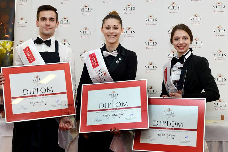 Víťazstvo na 5. ročníku Vitis Trophée Junior