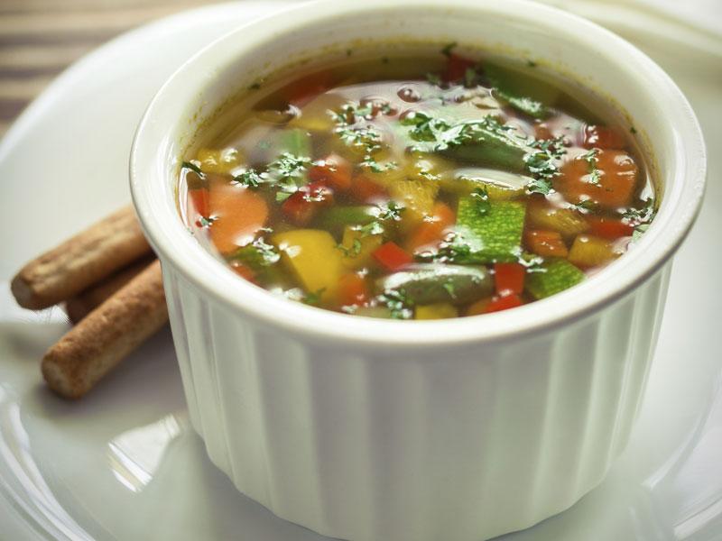 Vidiecka polievka