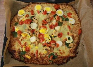 Pizza cesto z karfiolu
