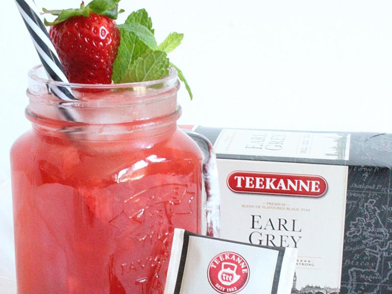 Strawberry kokteil