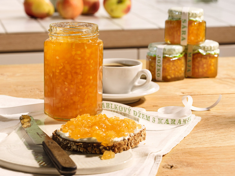 Hruškovo-jablkový džem