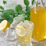 Bazový sirup so zázvorom a citrónom