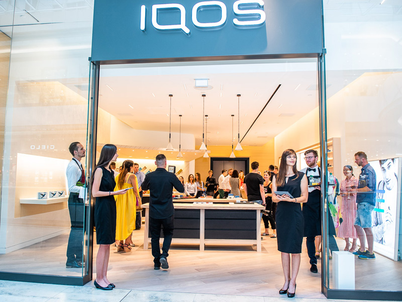 IQOS boutique