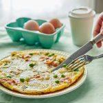 Tvarůžková omeleta
