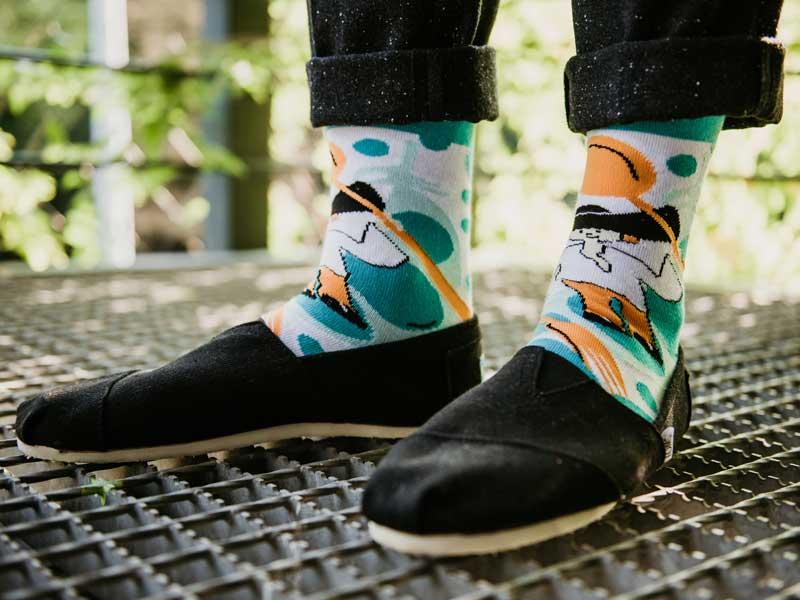800_VOJ_8224, ponožky