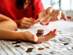 v zadlžovaní