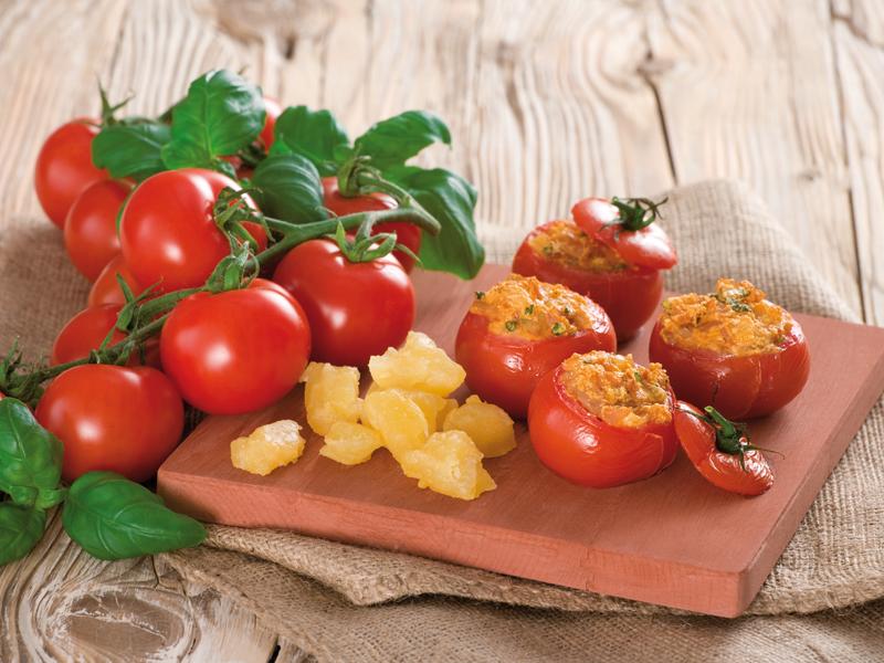 Plnené pečené rajčiny