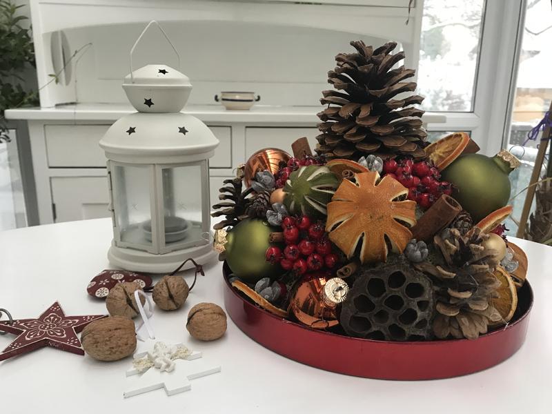 Voňavá vianočná dekorácia