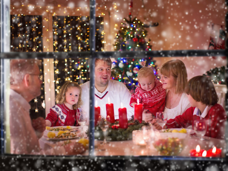 vianočný prieskum