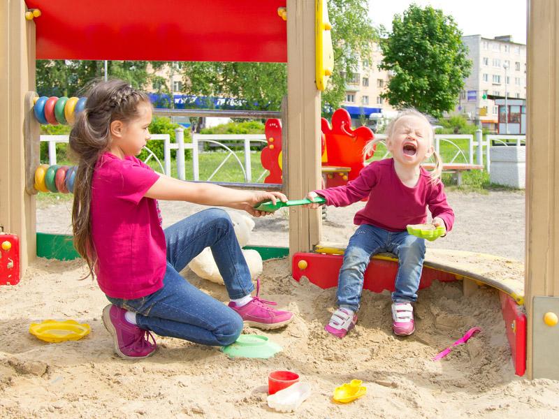 konflikt medzi deťmi