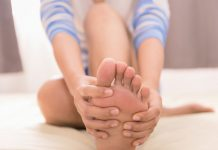 nohy onašom zdraví