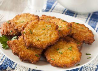 Zemiakové placky z varených zemiakov