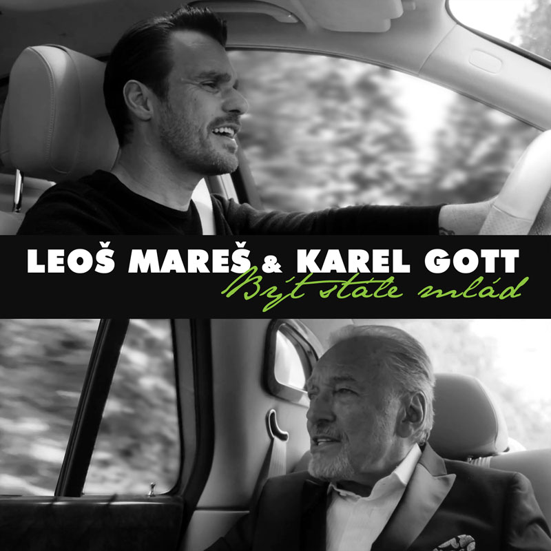 Leoš Mareš a Karel Gott