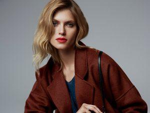Elegantný kabát