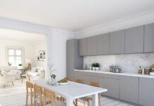 Sivá v kuchyni
