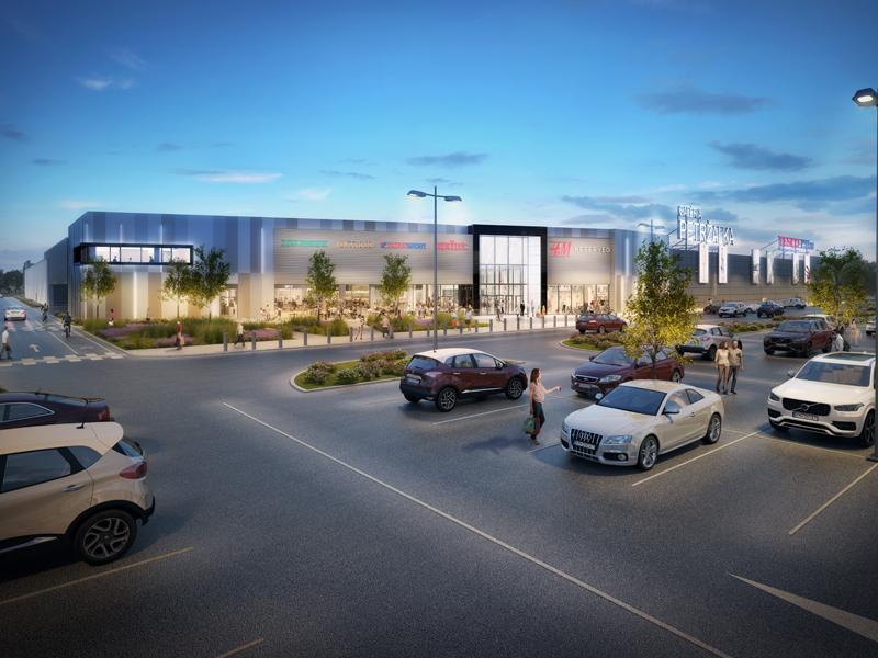 nové nákupné centrum