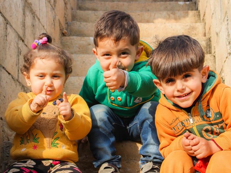 šťastné deti