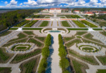 záhrady zámku Schloss Hof