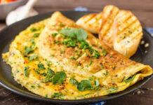 Nadýchaná omeleta