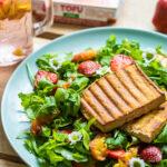 Letný šalát s tofu
