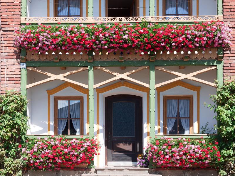 pripravený balkón