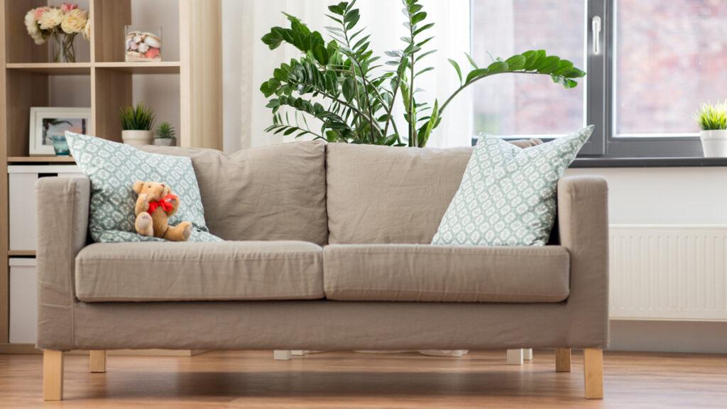 chyby pri dekorovaní obývačky