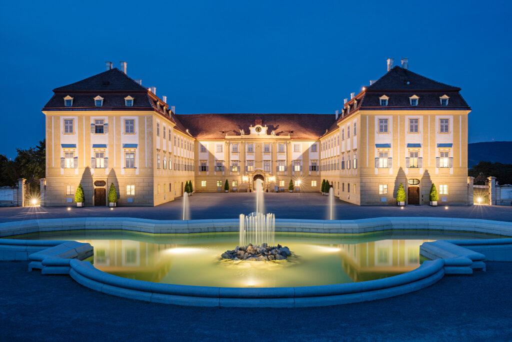 na zámku Schloss Hof