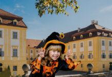 Halloween na zámku Schloss Hof