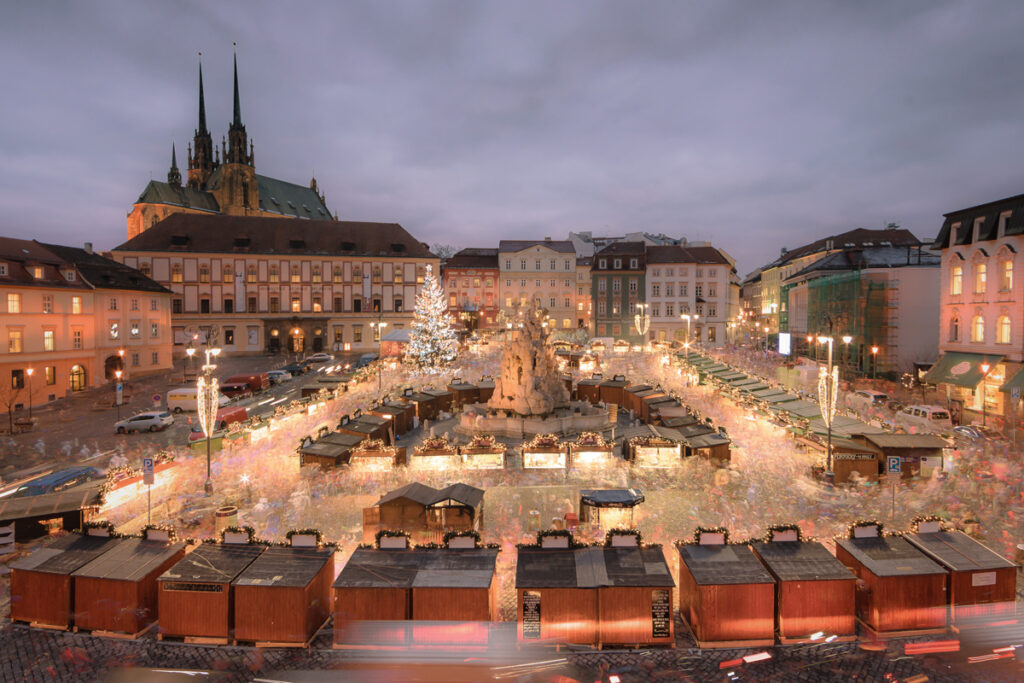Advent v českých mestách