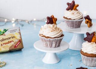 Perníkový cupcake