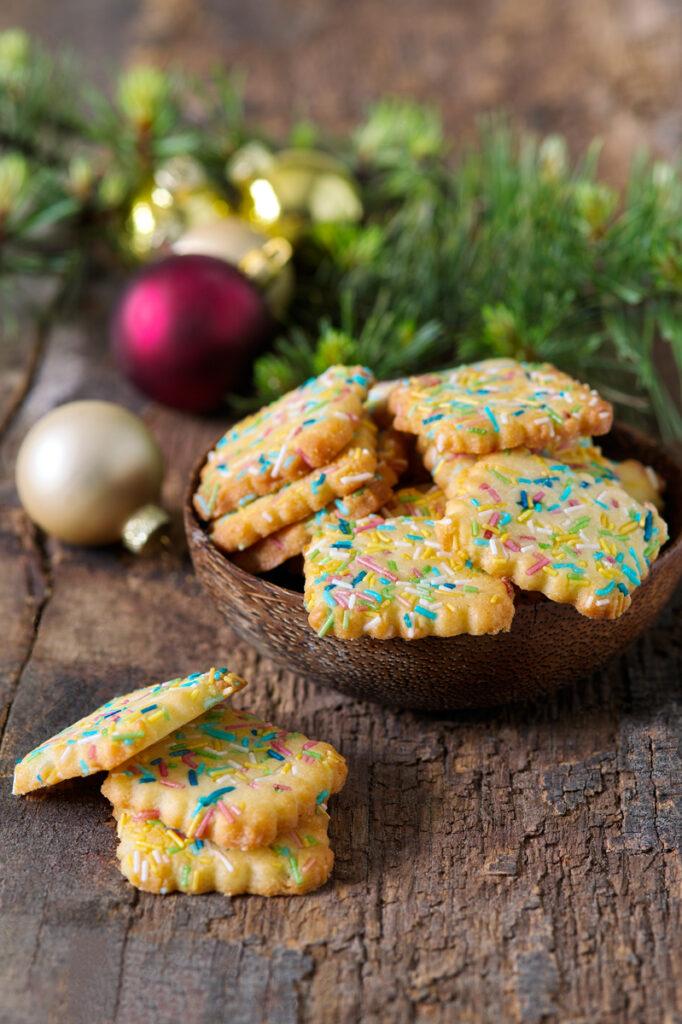 Farebné sušienky
