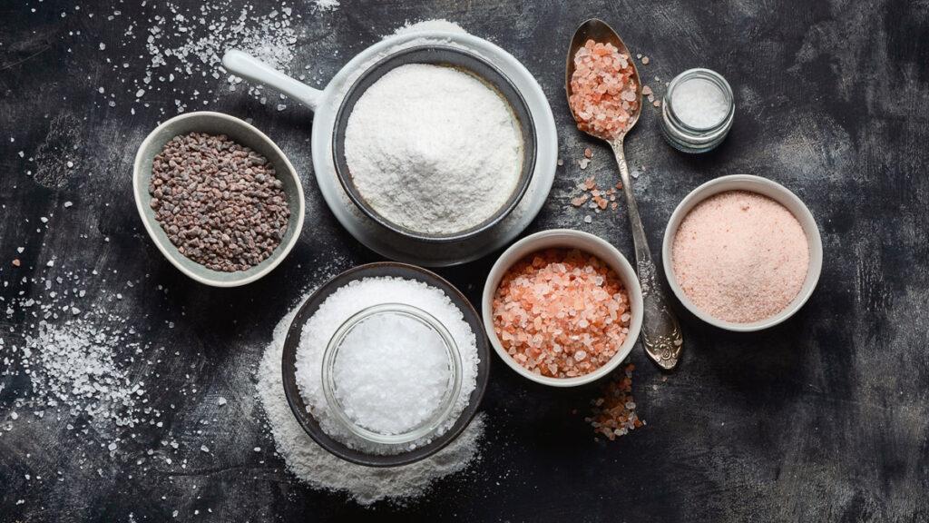 kuchynskú soľ