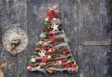 Štýlový vianočný stromček