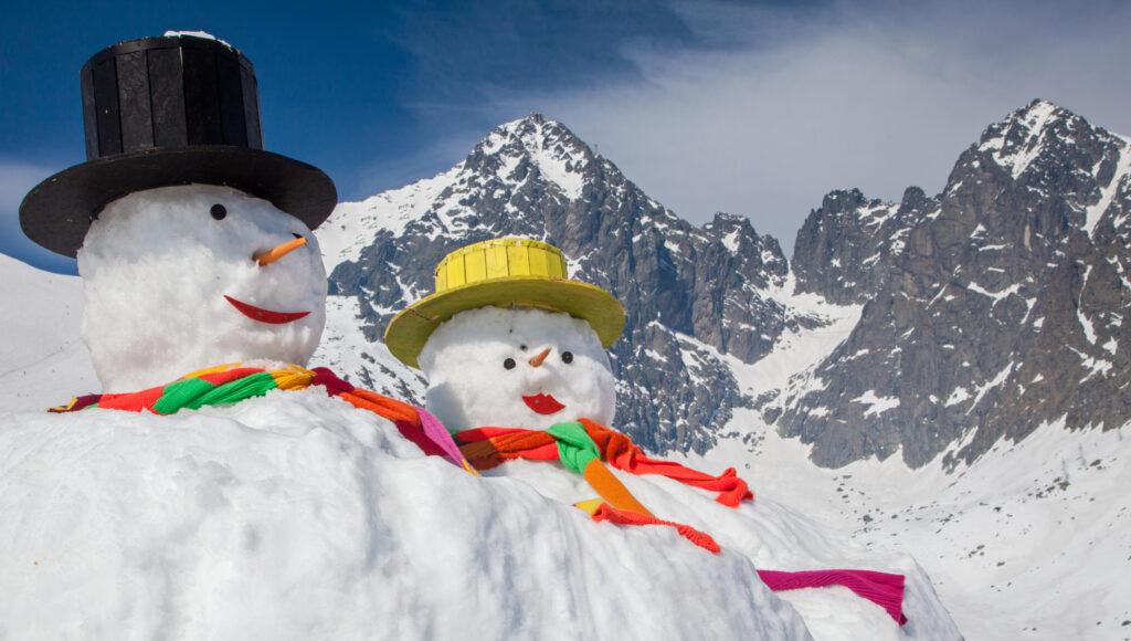 Silvester na horách