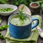 Hrášková polievka so zelerom a rozmarínom
