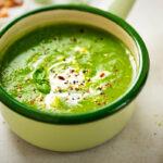 Pikantná špenátová polievka