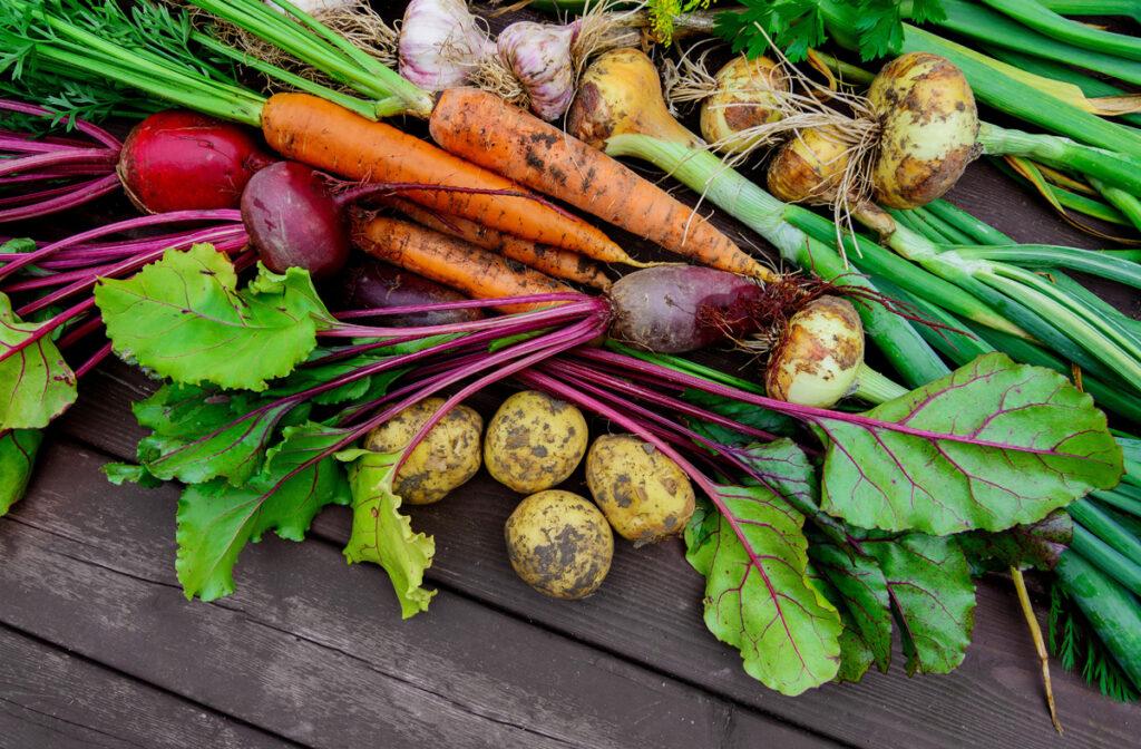 z ovocia a zeleniny